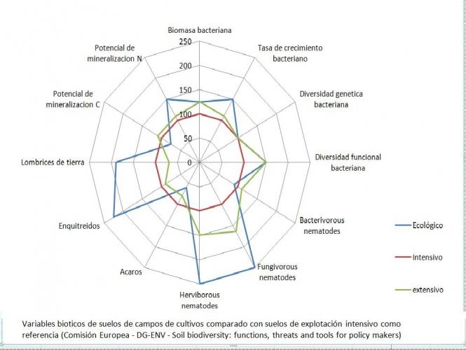 DIVERSIDAD BIÓTICA DE SUELOS AGRÍCOLAS