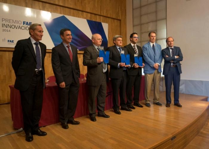El GRUPO KEPLER ha sido galardonado con el Premio FAE Innovación 2014 que otorga la Confederación de Asociaciones Empresariales FAE