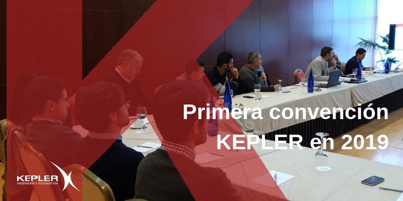 Primera convención KEPLER en 2019