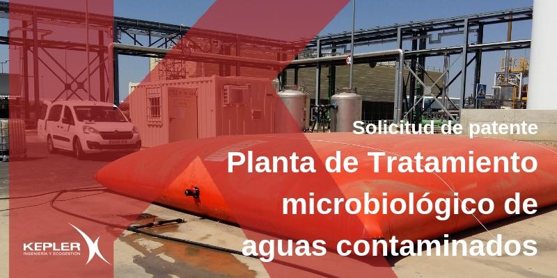 Nueva patente de Planta de Tratamiento Microbiológico