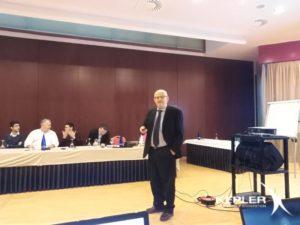 Apertura convención por Norbert Nägele Director Gerente