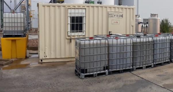 CUBETOS para la estrategia de descontaminación de hidrocarburos aromáticos como el bifenilo y el óxido de difenilo